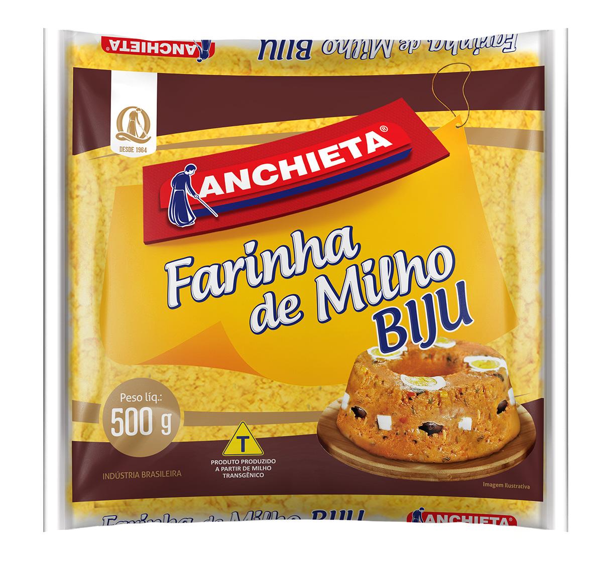Farinha Milho Integral Farinha de Milho Bijú 1kg